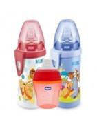 Vaso y taza antiderrame para aprendizaje de bebé