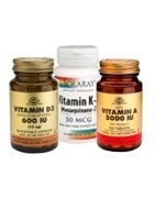 Vitaminas A y D: Vitaminas Liposoblubles