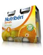 Nutriben Zumo de 3 Frutas 2x130ml