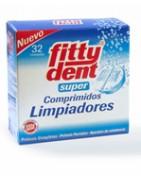 Fittydent Super Comprimidos Limpiadores 32 Uds