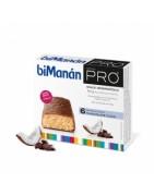 Bimanan Pro Barritas Chocolate Coco 6uds