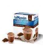Bimanan Sustitutive Batido Chocolate 5+ 1 Sobres