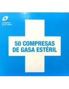 Interapothek Compresas Gasa Estéril 50 Unidades