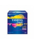 Tampax Compak Fresh Tamaño Regular 20uds