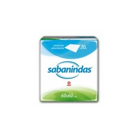 Sabanindas Cubrecolchones 60x60cm 20ud