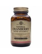 Solgar Arándono Rojo (Cranberry) con Vitamina C 60 vegicaps