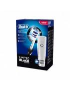 Oral B Cepillo eléctrico Vitality Trizone Black Edition + Funda de Viaje de Regalo