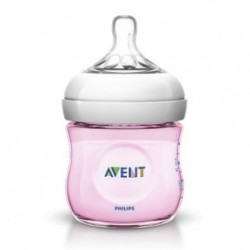 Biberón Avent Natural Rosa 125ml