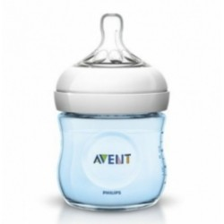 Biberón Avent Natural Azul 125ml