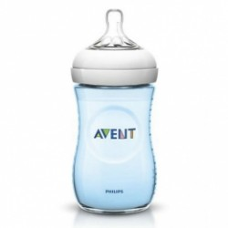 Biberón Avent Natural Azul 260ml