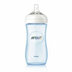 Biberón Avent Natural Azul 330ml