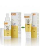 Boots Solei Spray SPF50 150ml +Crema facial SPF50 50ml
