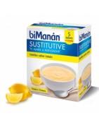 Bimanan Sustitutive Natillas Limón 5+1 Sobres