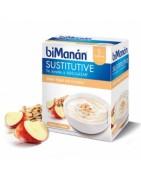 Bimanan Sustitutive Crema de Yogur con Cereales 5+1 Sobres