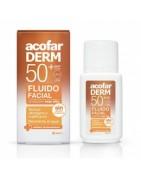 AcofarDERM Emulsión Fluida Facial SPF50 50ml