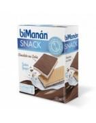 Bimanan Snack Chocolate con Leche Relleno Yogur 6uds