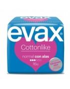 Evax Cottonlike Compresa Normal Con Alas 16ud