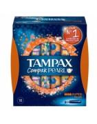 Tampax Compak Pearl Súper Plus 18ud