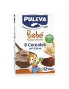 Puleva Bebé 8 Cereales con Cacao 500g