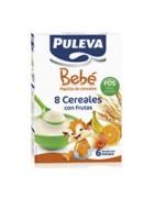Puleva Bebé 8 Cereales con Fruta 500g