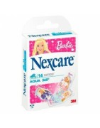 Nexcare Aqua 360º Barbie Tattoo 14uds