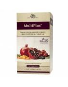 Multiplus Brain Solgar 90 Comprimidos