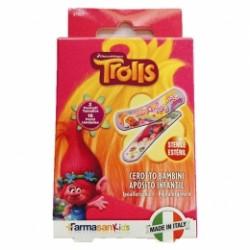 Tiritas Infantiles Trolls Surtidas 16 uds