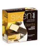 Siken Diet Barritas de Coco y Banana 5 uds