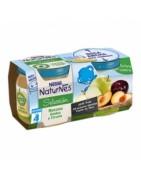 Nestle Naturnes Manzana Golden y ciruela 2x200g