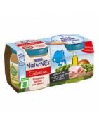 Nestle Naturnes Guisantes Tiernes con Jamón 2x200g