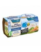 Nestle Naturnes Verduritas de la Huerta con Filete de Merluza 2x200g