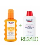 Eucerin Sun Spray Solar Transparente SPF30 200ml +Regalo Loción PH5 200ML