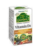 Vitamina D3 Garden Natures Plus 60 Cáps