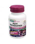 Açai Resveratrol Natures Plus 30 Comp