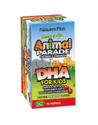 Animal Parade DHA para niños Natures Plus 90 Comp Masticables