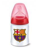 Biberón FC Barcelona Silicona +6 Meses 300ml