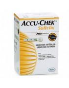 Accu Chek SoftClix II 200 Lancetas