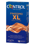 Anticonceptivos Control Adapta Finissimo XL 12Uds