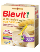 Blevit Plus Duplo 8 Cereales con Natillas 600g