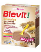 Blevit Plus Trocitos Cereales con Pepitas de Chocolate 600g