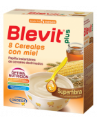 Blevit Plus Superfibra 8 Cereales con Miel 600g