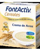 FontActiv Cereales Crema de Arroz 600g