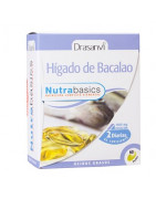 Nutrabasics Hígado de Bacalao 60 Perlas