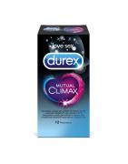 Preservativos Durex Climax Mutuo 12 Unidades