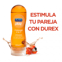 Lubricante Durex Play Massage Estimulante 2en1 200ml