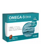 Omega 3 DHA Eladiet 60 Perlas