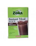 Enerzona Insta Meal Batido Chocolate 40-30-30 4 Sobres