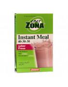 Enerzona Insta Meal Batido Fresa 40-30-30 4 Sobres