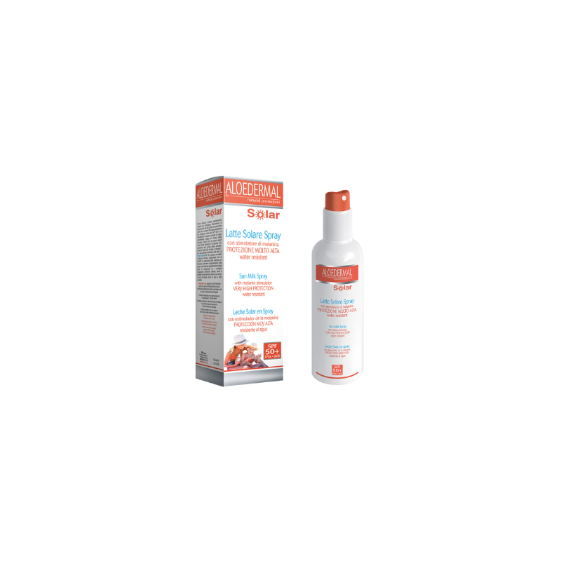 Aloedermal Spray Solar Cuerpo SPF50 Trepat Diet 150ml