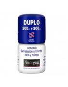Neutrogena Bálsamo Hidratación Cara y Cuerpo 2x300ml